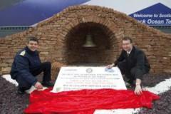 OFFICER CADETS: 'Wishing Bell' at Greenock