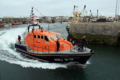 NEW LIFEBOAT: First Ireland Tamar named by President