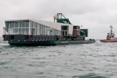 FERRY LINK: New terminal for Gosport