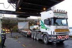 RO-RO FERRY: Heaviest cargo ever