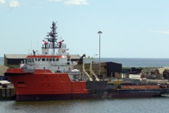OFFSHORE VESSEL: Modified for standby