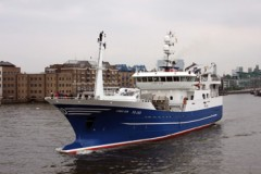 FISHING VESSEL: Trawlers in London