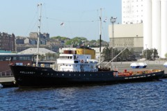 HISTORIC TUG: Preserved tug on tour