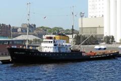 HISTORIC TUG: Preserved tug on tour