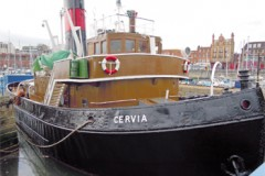 STEAM TUG: Cervia restoration and back in steam