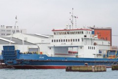 SMALL FERRY: Unusual Dover service