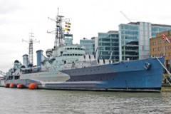 PRESERVED SHIP – HMS Belfast celebrates 75 years
