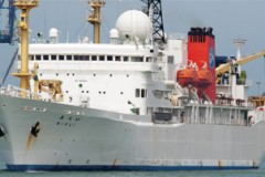 RESEARCH SHIP – Nuclear caller in New Zealand