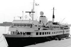 January's mystery ship