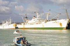 July's mystery ship