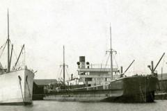 October's mystery ship