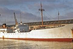 September's mystery ship