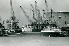 April's mystery ship