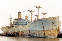 May's mystery ship