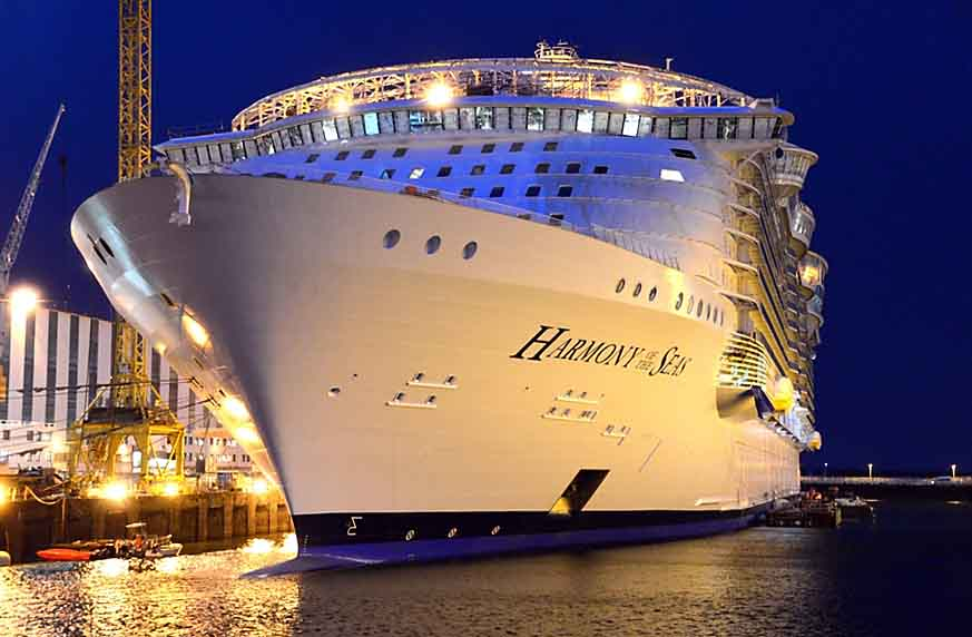 Harmony of the seas handed over ships monthly - Allure of the seas fort lauderdale port address ...