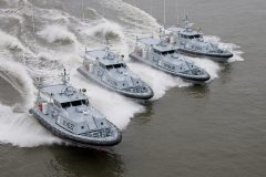 New Damen Patrol vessels delivered