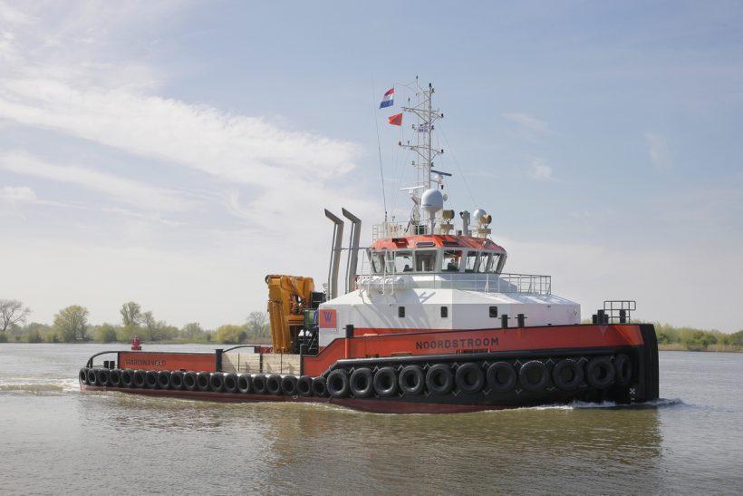 Damen Shoalbuster Noordstroom delivered