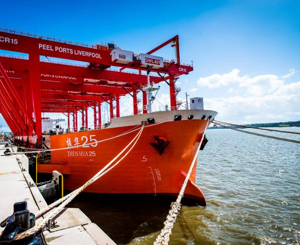 New cranes arrive in Mersey