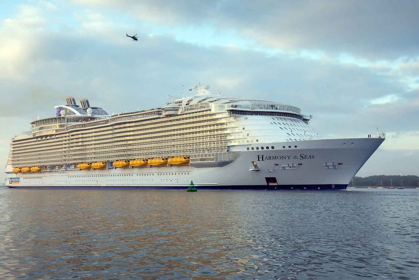 RCL order another Oasis class ship from STX