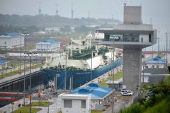 Panama Canal takes LNG ships