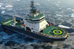 New icebreaker for Russian Navy
