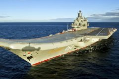 Aircraft carrier Kuznetsov set for upgrade