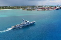 Bahamas Corvette comes to Damen for lifetime extension
