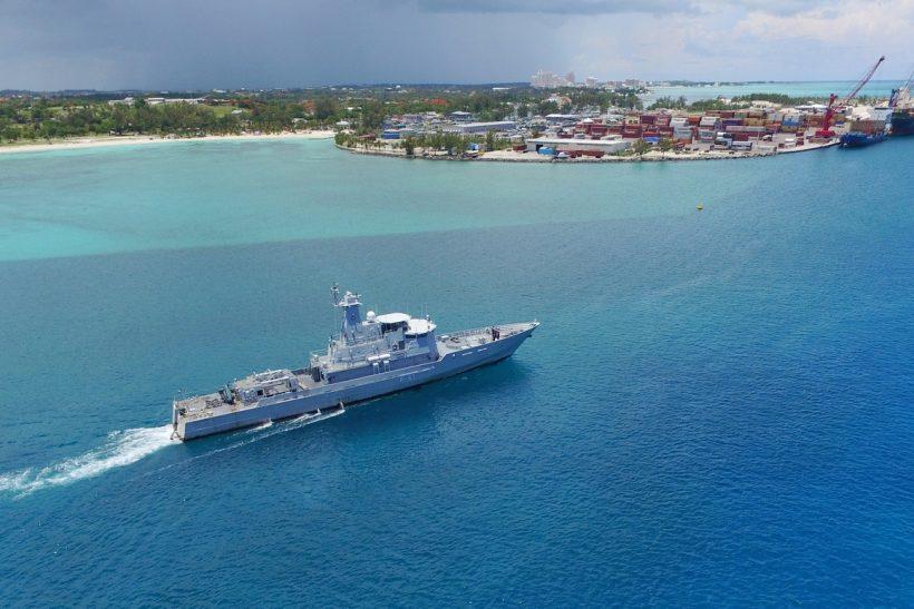 Bahamas Corvette comes to Damen for lifetime extension