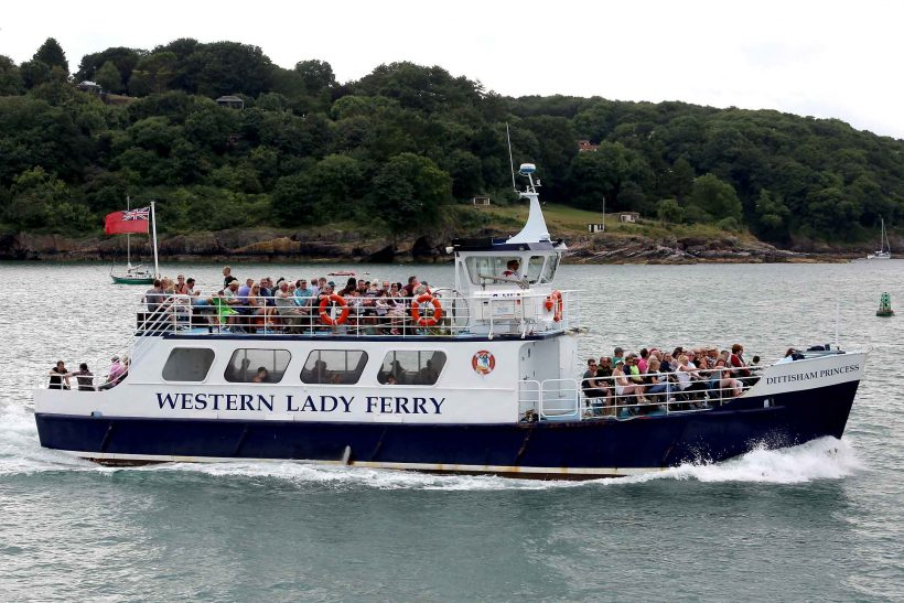 Ecursion trips out on the English Riviera