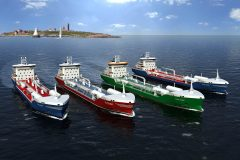 Wärtsilä involved with four new LNG fuelled tankers