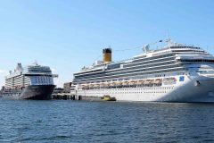 Baltic port of Kiel booming with cruise calls