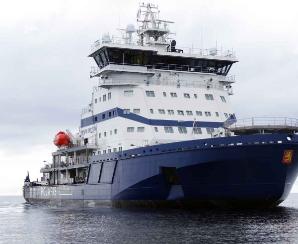 World's first LNG-powered icebreaker Polaris delivered