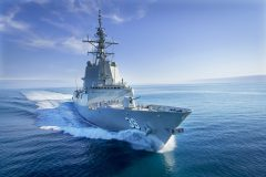 Trial success for Australia's first next-generation Air Warfare Destroyer