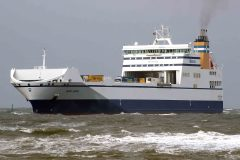 P&O Ferries' Zeebrugge-Teesport route freight increase