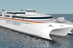 Incat to build new 110m wavepiercer for Malta's Virtu Ferries