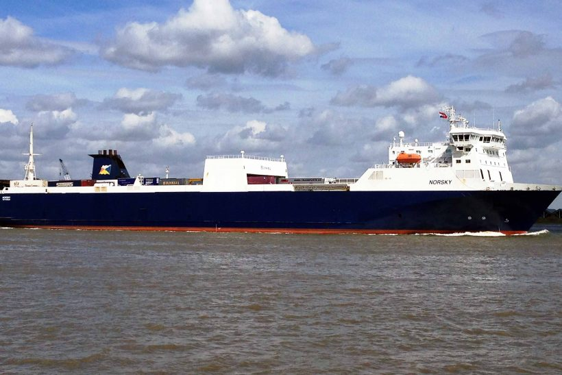 P&O Ferries reports highest freight volumes in ten years on Zeebrugge-Tilbury
