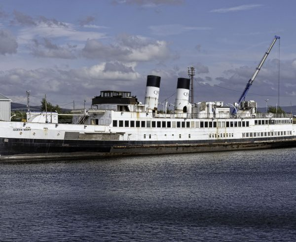 Historic steamship TS Queen May to be towed to Glasgow