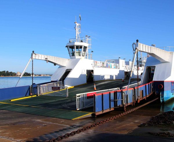 Poole Sandbanks ferry overhauled