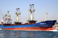 German general cargo ship Fiskela off to the breakers