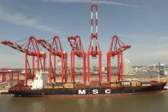 Official opening of Liverpool Container Terminal