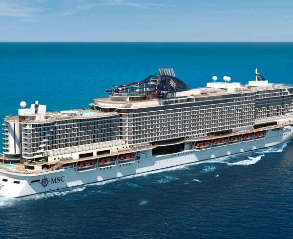 MSC Cruises marks float out of MSC Seaside