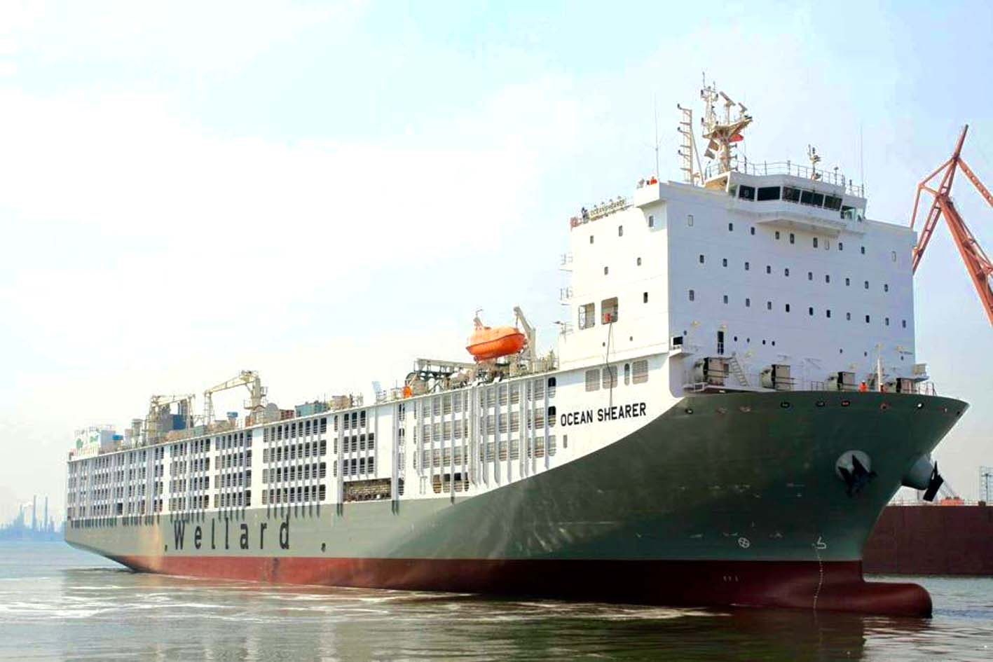 Largest Cargo Ship >> World's largest livestock carrier | Ships Monthly