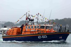 Poole lifeboat station says farewell to all-weather lifeboat