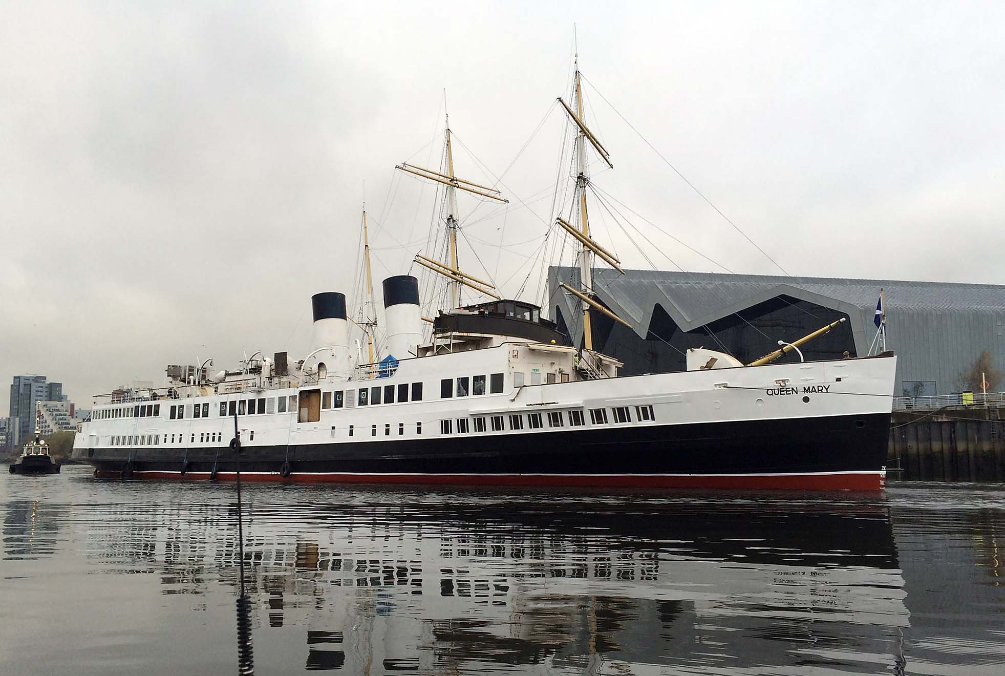 Queen Mary Berths In Glasgow For The First Time Since 1977 Ships Monthly