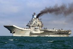 Russian warships in the English Channel