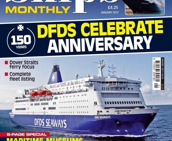 Ships Monthly January 2017 issue now out