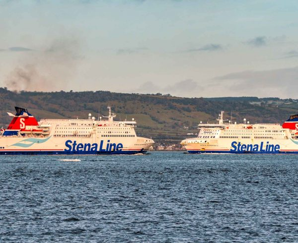 Stena Line celebrates five years Belfast to Cairnryan