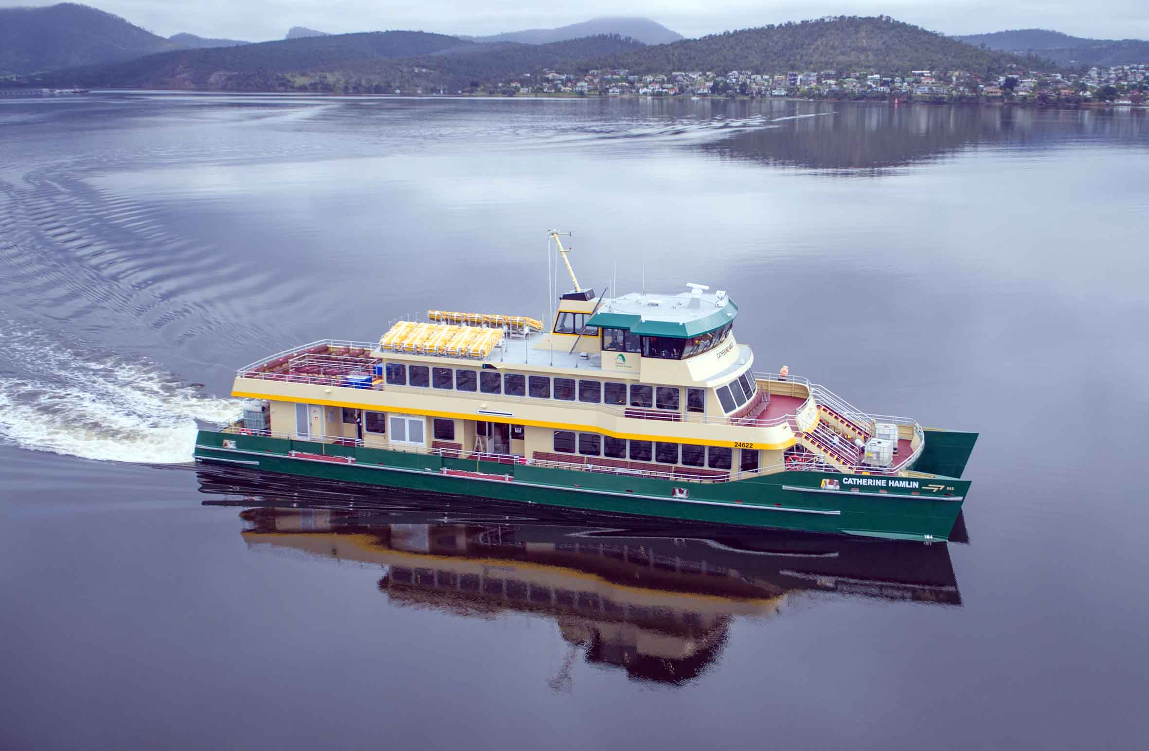 New Ferry Launched By Incat Ships Monthly
