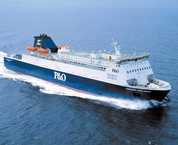 P&O Ferries highest freight volumes on Larne-Cairnryan