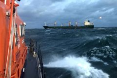 Seaman Evacuated from bulk carrier In Joint Sea and Air Rescue